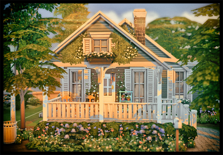 Grandma & Grandpa's Cottage TS4 Lot
