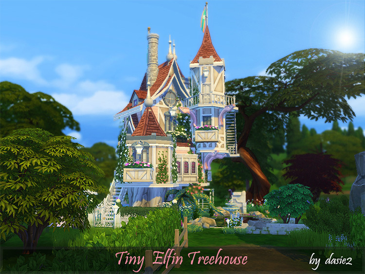 Tiny Elfin Treehouse Lot