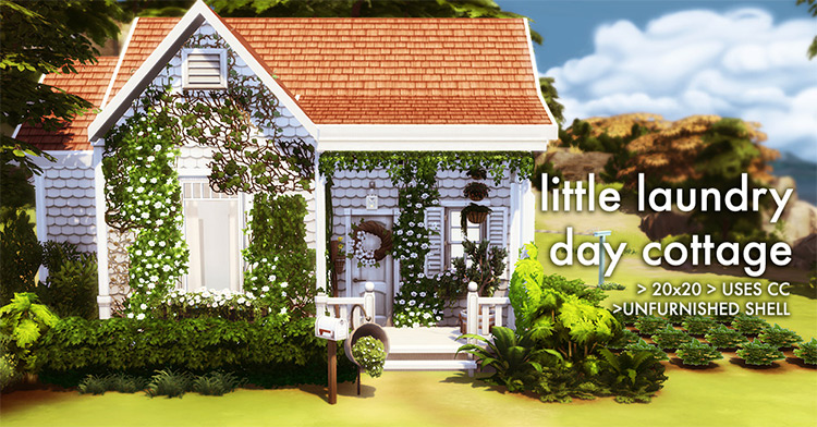 Little Laundry Day Cottage Preview