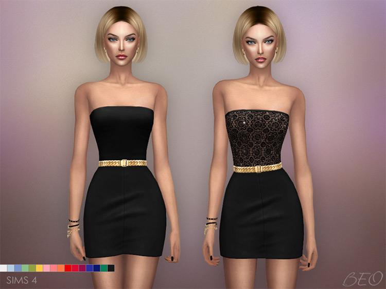 Mini Dresses Sims 4 CC