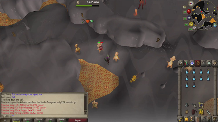 Smoke Devil Dungeon in OSRS