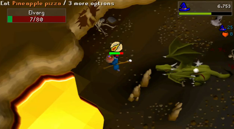 Crandor and Karamja Dungeon in OSRS