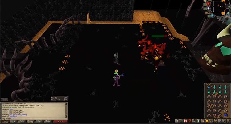 Cerberus OSRS game screenshot