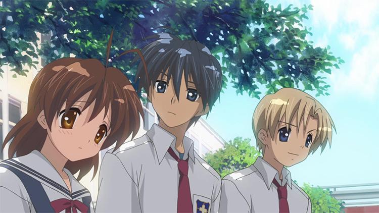 Clannad anime screenshot