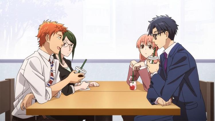 Wotakoi: Love is Hard for Otaku anime