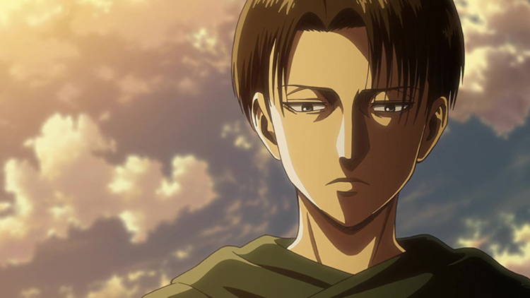 Levi Ackerman from Attack on Titan anime