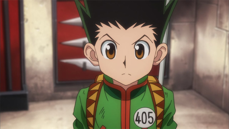 Gon Freecss from Hunter x Hunter (2011)