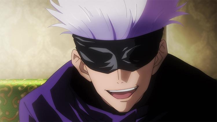 Satoru Gojou en el anime Jujutsu Kaisen