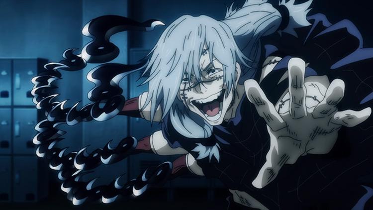 Mahito from Jujutsu Kaisen anime