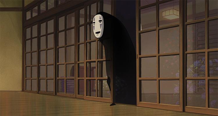 Kaonashi from Spirited Away anime