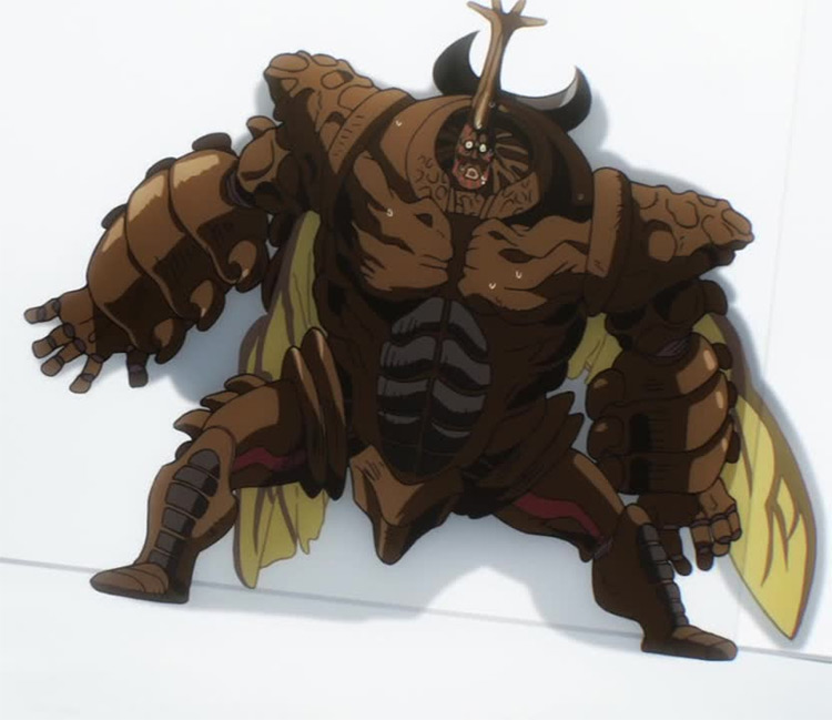 Carnage Kabuto from One Punch Man anime