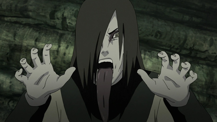 Orochimaru from Naruto anime