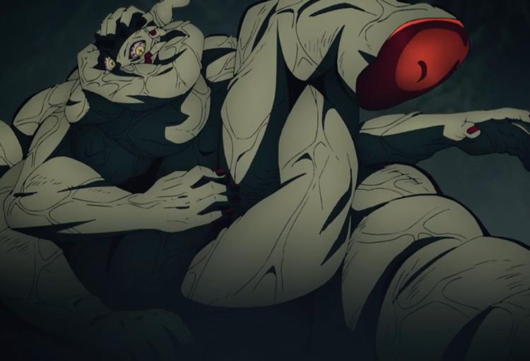 Hand Demon in Demon Slayer