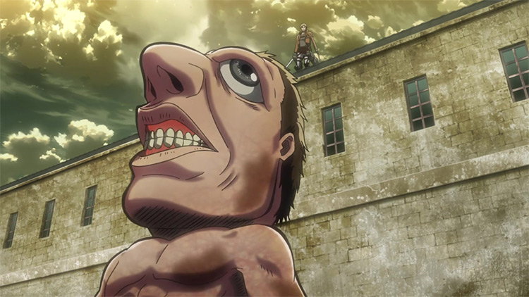 Large-nose Titan from Attack on Titan