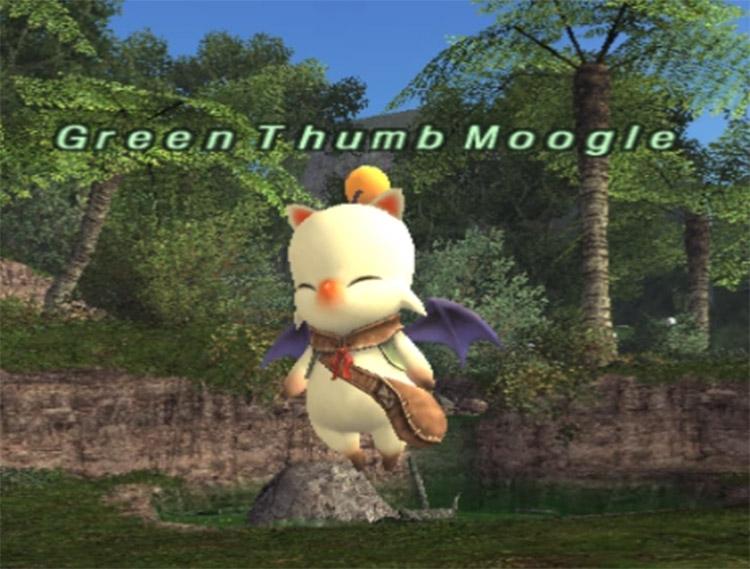 Vendor Moogle Screenshot in FFXI