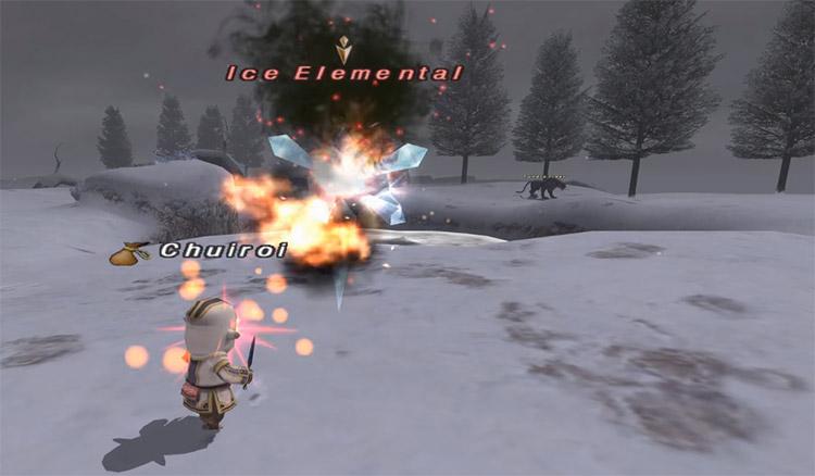 White mage job synergy in FFXI