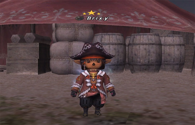 Custom redmage outfit in FFXI