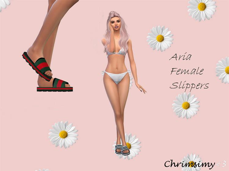 Aria Flipflops - Sims 4 CC