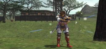 Casting Blue Magic in Final Fantasy 11