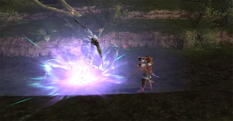 Subduction Spell in FFXI