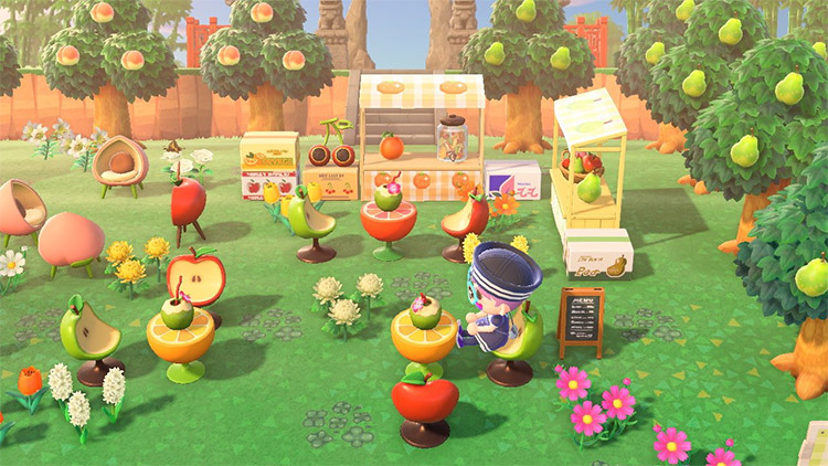 Orchard fruit cafe in New Horizons