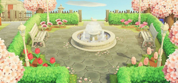 25 Outdoor Park Ideas For Animal Crossing: New Horizons