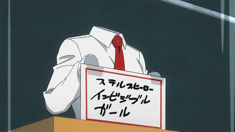 Toru Hagakure from MHA anime