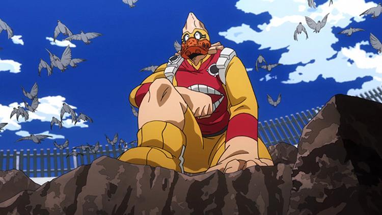 Koji Koda in My Hero Academia anime
