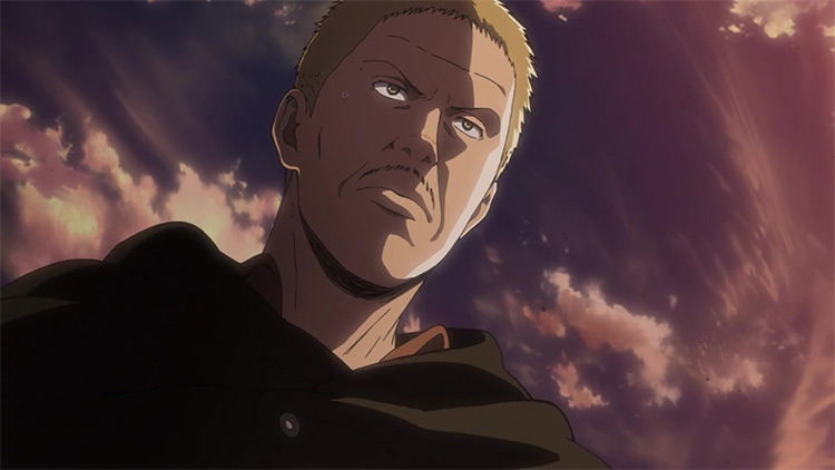 Hannes from Attack on Titan anime