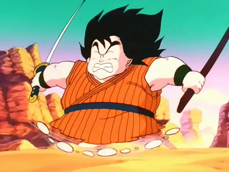 Yajirobe in Dragon Ball Z
