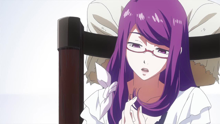 Rize Kamishiro Tokyo Ghoul anime screenshot