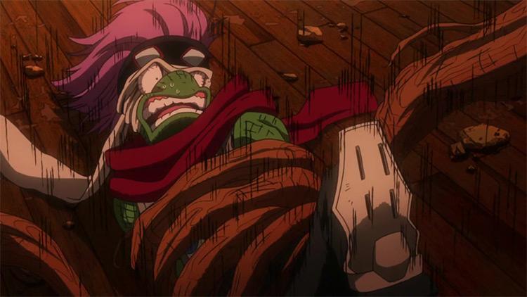 Spinner My Hero Academia anime screenshot