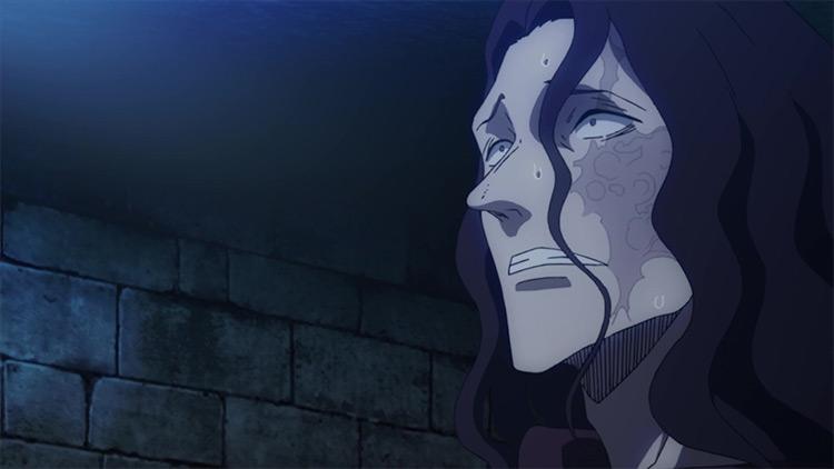 Revchi Salik in Black Clover anime