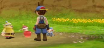 Harvest Moon Hero of Leaf Valley Harvest Sprites Screenshot