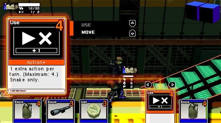 Metal Gear Acid 2 gameplay on PSP