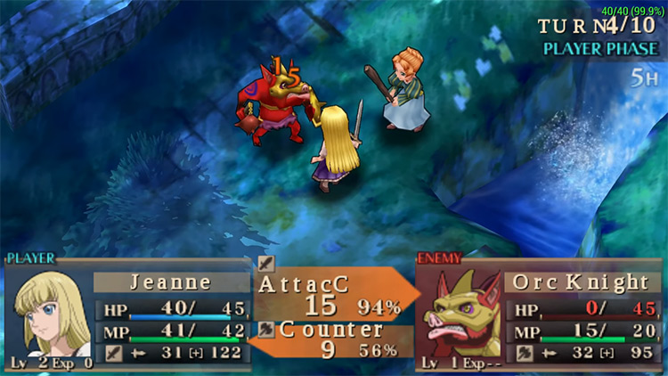 Jeanne D'Arc PSP screenshot