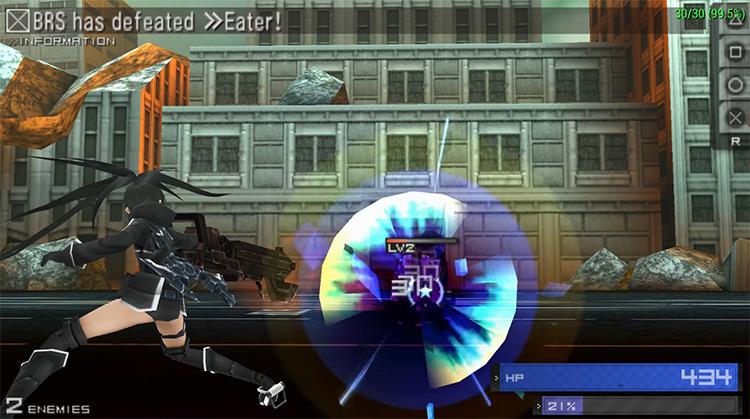 Black Rock Shooter gameplay