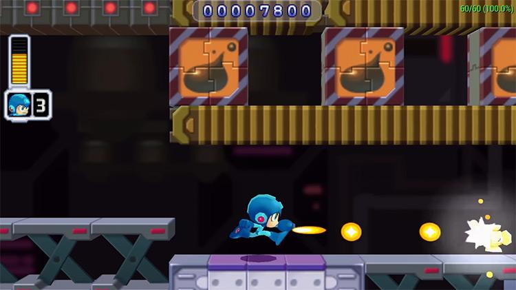 Mega Man Powered Up gameplay