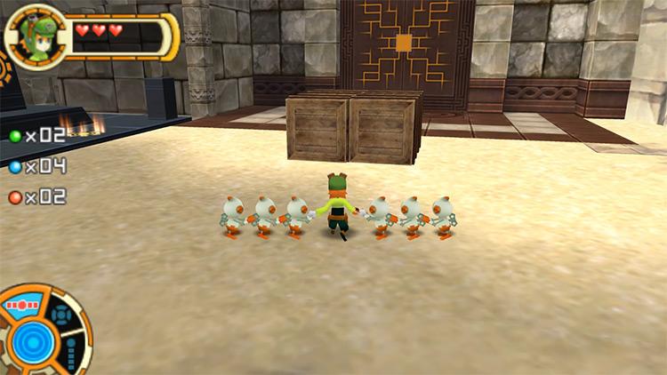 Tokobot PSP gameplay