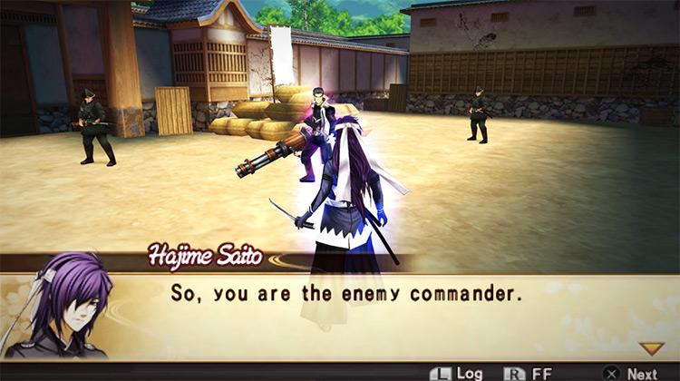 Hakuoki: Demon of the Fleeting Blossom for PSP