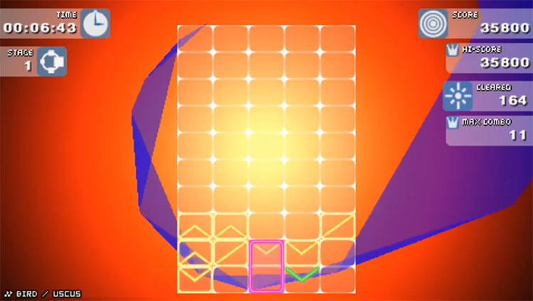 Gunpey PSP gameplay screenshot