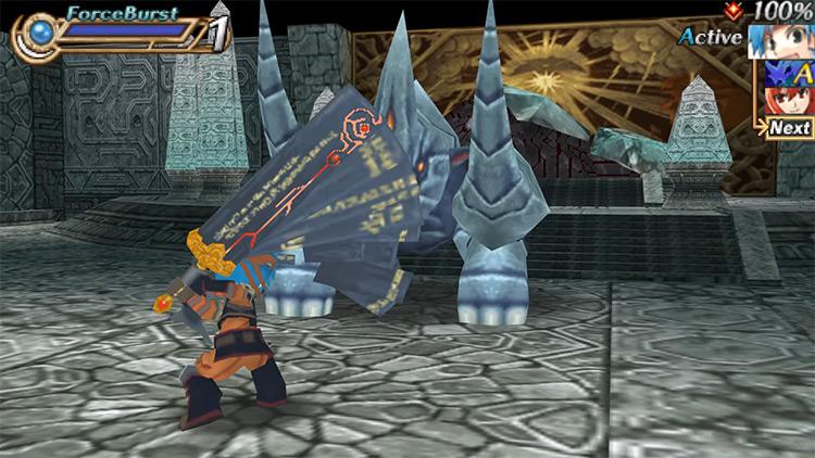 Hexyz Force for PSP