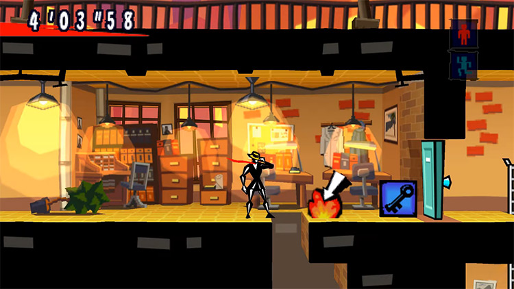 Exit game PSP screenshot