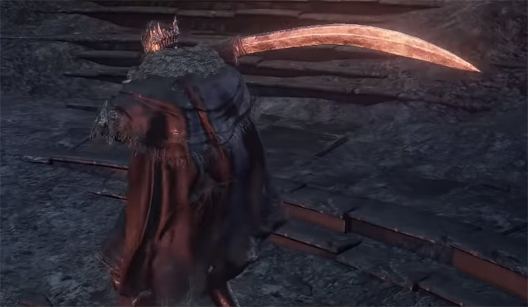 Carthus Curved Greatsword in DS3