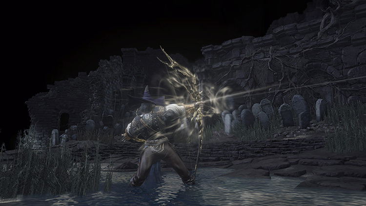 Darkmoon Longbow from Dark Souls 3