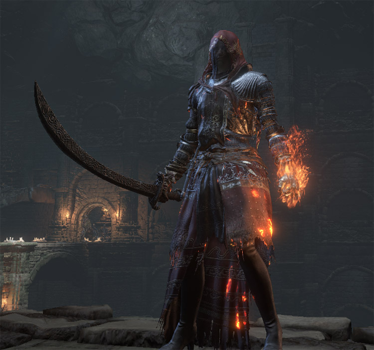 Carthus Curved Sword Screenshot in DS3