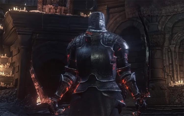 Warden Twinblades from Dark Souls 3