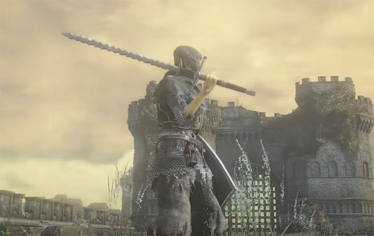 Flamberge Sword in Dark Souls 3