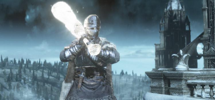Glowing knight build in Dark Souls 3