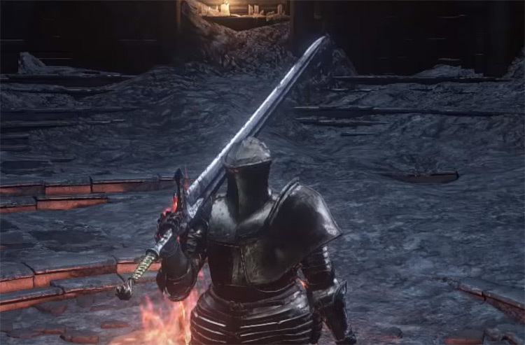 Lothric Knight Greatsword in DS3
